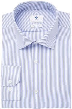 Ryan Seacrest Distinction Men's Ultimate Slim-Fit Non-Iron Performance Stripe Dress Shirt, Created for Macy's