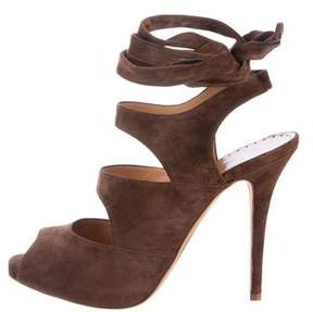 Alexa Wagner Suede Lace-Up Pumps w/ Tags