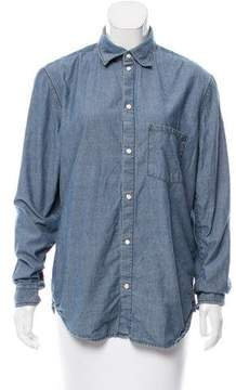 BLK DNM Chambray Button-Up Top w/ Tags