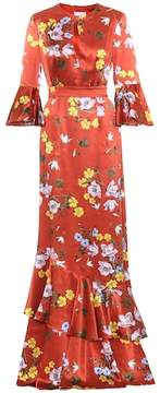 Erdem Venice floral-printed silk dress