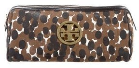 Tory Burch Printed Canvas Cosmetic Bag