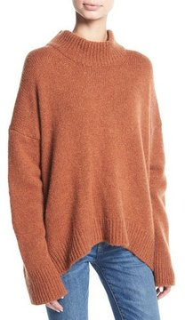 Brock Collection Kathleen Cashmere Mock-Neck Pullover