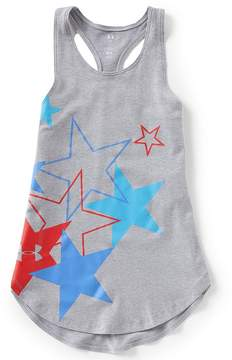 Under Armour Big Girls 7-16 Americana Stars Tank