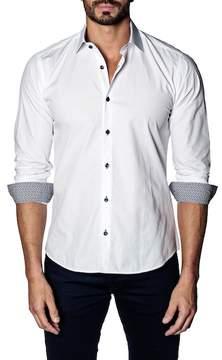Jared Lang Solid Slim Fit Shirt