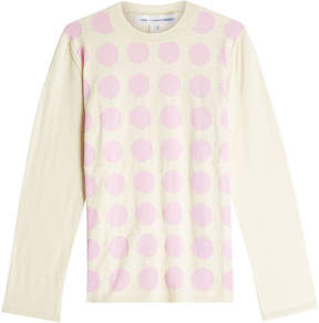 Comme des Garcons Printed Wool Pullover