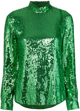 Vanessa Bruno sequinned turtleneck top