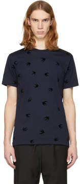 McQ Navy Swallow T-Shirt
