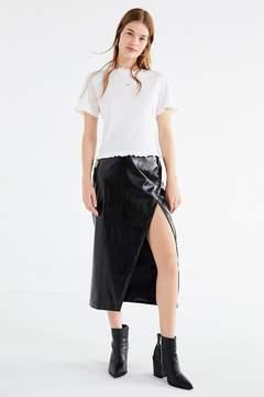 Capulet Vita Leather Midi Skirt