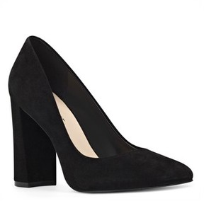 Nine West Women's Denton Block Heel Pump