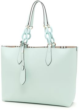 Burberry Medium Reversible Tote - PALE OPAL|VERDE - STYLE