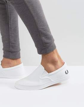 Fred Perry Underspin Slipon Perf Leather Sneakers