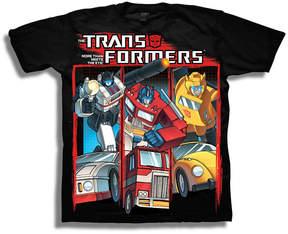 Freeze Transformers Short Sleeve Tees Transformers Graphic T-Shirt-Preschool Boys