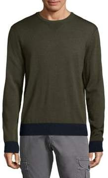 Michael Bastian Merino Wool Crewneck Sweater
