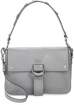 Moschino Women's Magnetic Leather Shoulder Bag