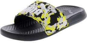 Puma Men's Popcat Camo Black / Safety Yellow Gray Violet Ankle-High Sandal - 4M
