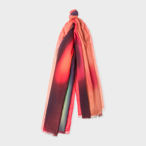 Paul Smith Women's 'Blurred Photo' Print Scarf
