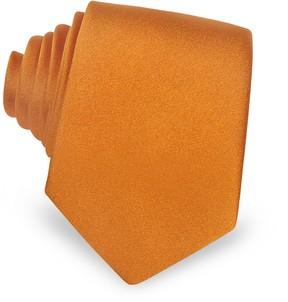 Forzieri Solid Silk Narrow Tie