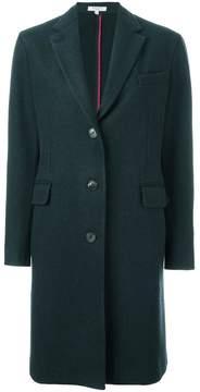 Boglioli flap pockets mid coat