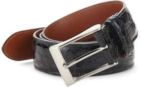Saks Fifth Avenue Men's Genuine Crocodile Skin Belt