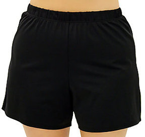 Fit 4 U Thighs Solid Swim Short