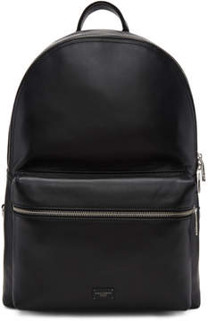 Dolce & Gabbana Black Leather Backpack