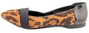 XOXO Idan Women Pointed Toe Synthetic Flats.