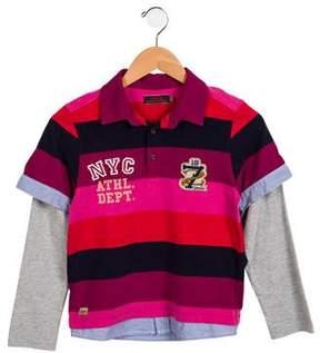Catimini Boys' Long Sleeve Collared Shirt