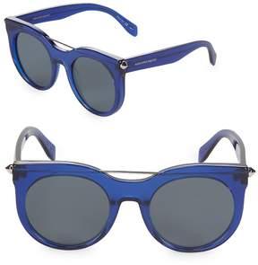 Alexander McQueen Women's 52MM Aviator Sunglasses