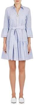 Derek Lam 10 Crosby Women's Striped Cotton Poplin Belted Dress