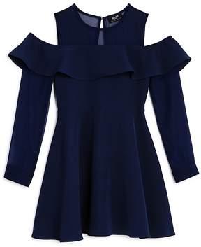 Bardot Junior Girls' Ruffled Cold-Shoulder Dress - Big Kid