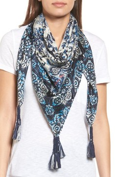 Johnny Was Women's Flores Silk Square Scarf