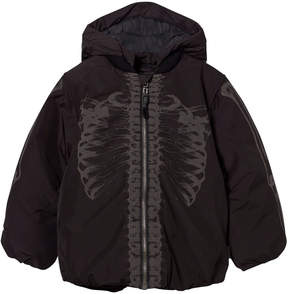 Molo Black Reflective Skeleton Hadar Jacket