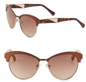 Vince Camuto 57MM Clubmaster Sunglasses