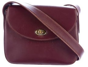 Cartier Leather Crossbody Flap Bag
