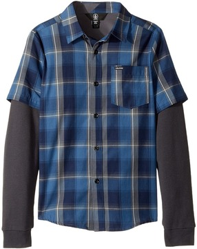 Volcom Hayes Twofer Shirt Boy's Clothing