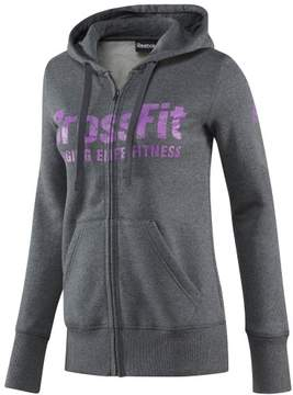 Reebok Cross Fit Full Zip Hoodie (large) (XX-Small, Dark Grey Heather)