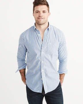 Abercrombie & Fitch Stretch Poplin Shirt