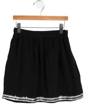 Lili Gaufrette Girls' Embellished Skirt
