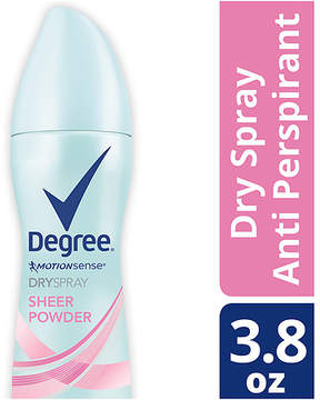 Degree Women Antiperspirant Deodorant Dry Spray Sheer Powder