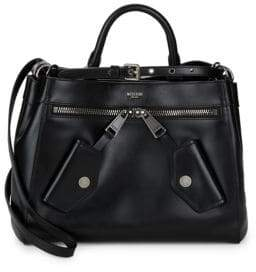 Moschino Classic Leather Satchel