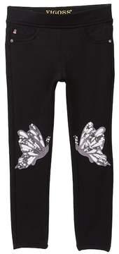 Vigoss Skinny Pull-On Pants (Little Girls)