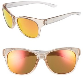 Smith Women's Feature Chromapop 54Mm Polarized Sunglasses - Desert Crystal/ Smoke