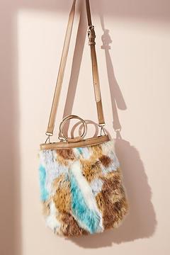 Anthropologie Cheetah Tote Bag