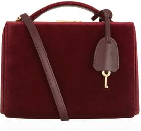 Mark Cross Velvet Grace Box Bag
