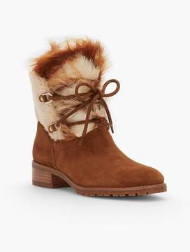 Talbots Tish Suede Hiking Boots