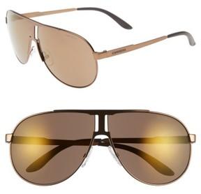 Carrera Men's Eyewear 64Mm Aviator Sunglasses - Light Brown/ Violet
