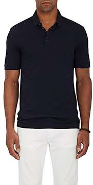 Giorgio Armani Men's Virgin Wool Piqué Polo Shirt