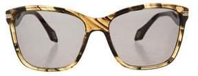 Carolina Herrera Marbled Square Sunglasses