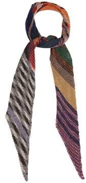 Missoni Pleated lurex scarf