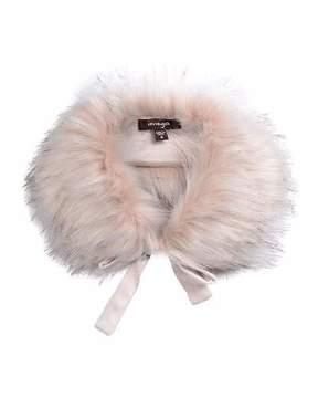 Imoga Hope Girls' Faux-Fur Collar, Pink